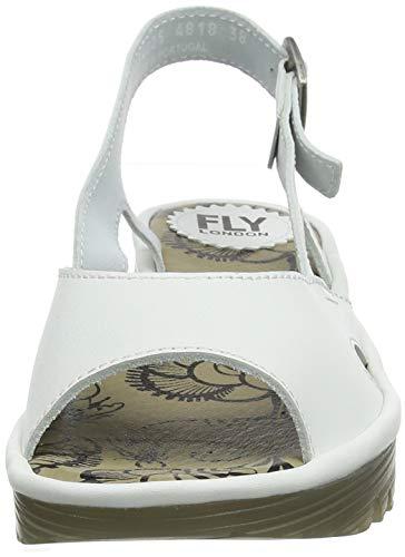 Arrière Femme Fly Bride offwhite Sandales London 005 Ecru Edon034fly nxzWwzIrf