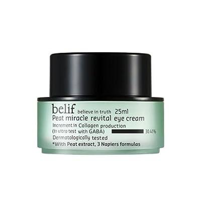 belif Peat Miracle Revital Eye Cream by belif