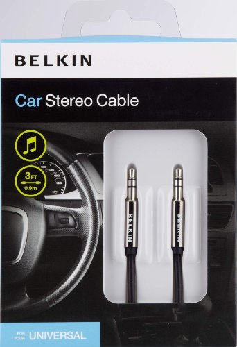 Belkin Car Stereo Cable (3 feet)