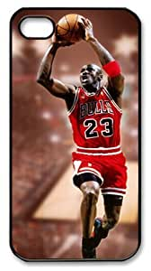 icasepersonalized Personalized Protective For SamSung Note 2 Case Cover Michael Jordan, NBA Chicago Bulls #23