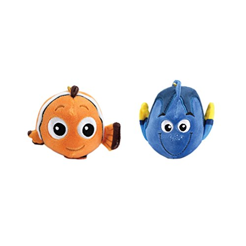 Disney Finding Dory Fluffball Ornament 2 Pack - Dory and Nemo