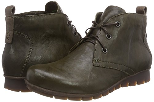 Olive 63 Women's Green kombi Boots 383074 Menscha Think Desert RPq4xv