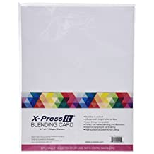Copic Marker X-Press Blending Card 8.5-Inchx11-Inch 25/Package-White