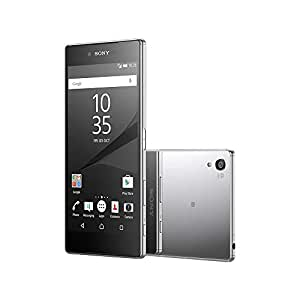 Sony Xperia Z5 Premium E6853 5.5-Inch 4K UHD Display Factory Unlocked (CHROME) - International Stock No Warranty