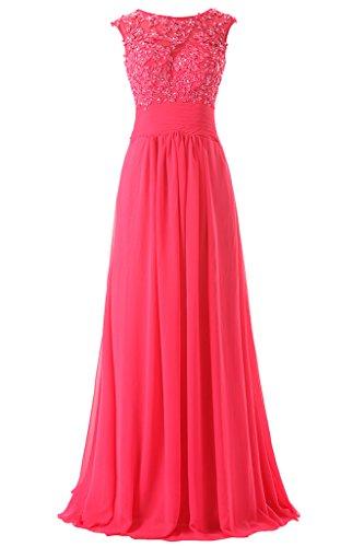 JAEDEN - Vestido - para mujer Hot Pink