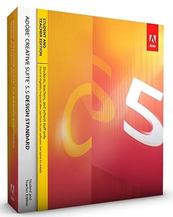 Adobe creative suite 5. 5 design standard software 65121347 b&h.