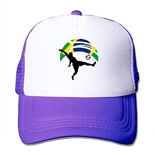 Mesh Gorras Player Tone Kicking Adjustable Brazil NDJHEH Flag Trucker Hat Two béisbol Ball Hat Soccer 1adwdOq