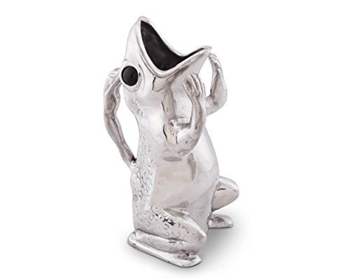 Court Frog Arthur (Arthur Court Designs Aluminum Frog Water/Juice/Drink Pitcher)