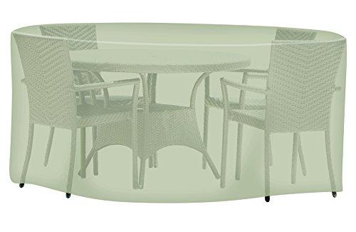 Tepro Universal Abdeckhaube Sitzgruppe rund, groß, beige, 320 x 320 x 95 cm, 8627