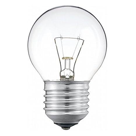 Bombilla esférica clara de baja tensión 125V 60W rosca E27: Amazon.es: Iluminación