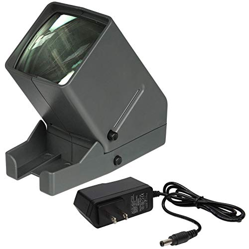 (Zuma SV-3 LED 35mm Film Slide Viewer with AC Adapter 110AC to 6VDC 500ma Z-SV-3K)