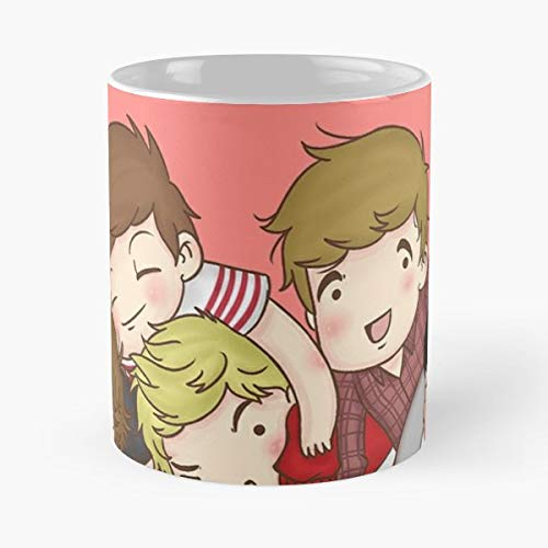 One Direction Cartoon Funny (One Direction Cartoon Let Me Kiss You - Funny Gifts For Men And Women Gift Coffee Mug Tea Cup White 11 Oz.the Best)