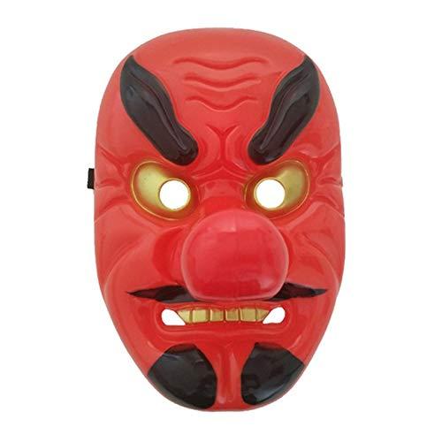 máscara tengu de Japón