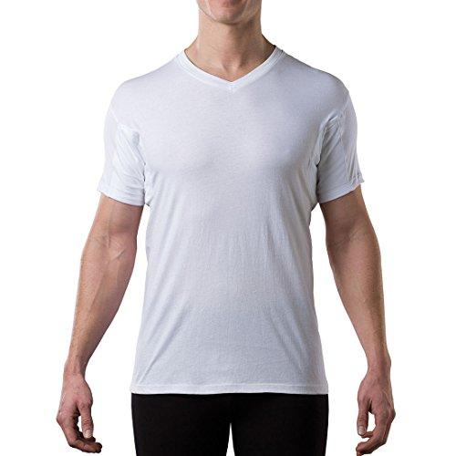 Resistente al sudor camiseta de tirantes con almohadillas de las axilas  sudor Thompson Original Fit Vneck 98602f5a60b7