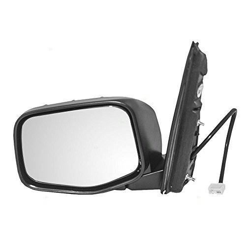 Drivers Power Side View Mirror Heated Replacement for Honda Odyssey Van 76250-TK8-A11ZA (Van Heated Power Mirror)