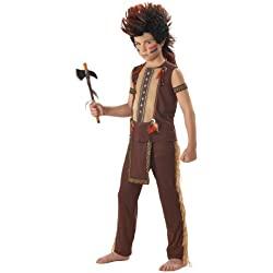 Indian Warrior Boy's Costume, Medium, One Color