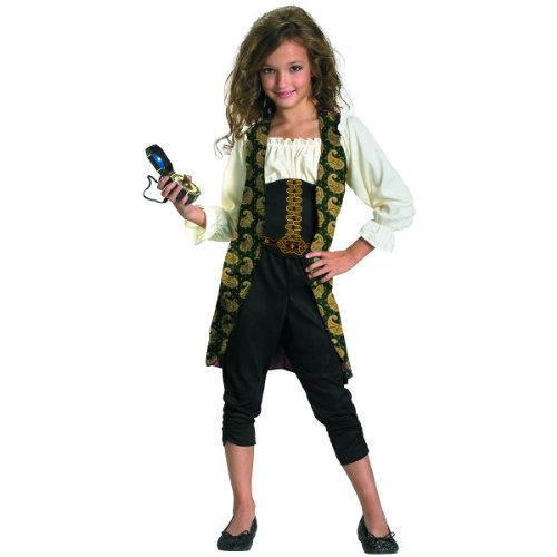 [Angelica Classic Child Costume - Medium (7-8)] (Pirate Halloween Costumes Ideas)