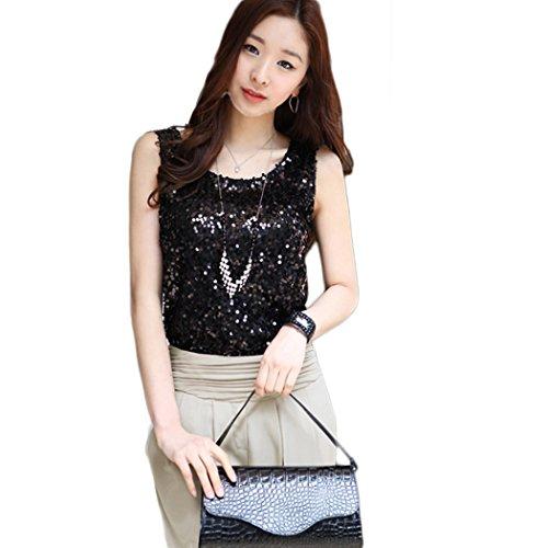 Fanala Sparkle Glitter T Shirt blouses
