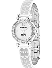 Womens 14502201 Madison Signature Silver Stainless Bangle Glitz Watch