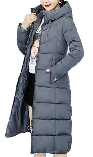 Sicurezza Di Femminili Leggeri Puffer Comprimibile Cappotti Giacca Sottile Grigio Giù PA8Zwq
