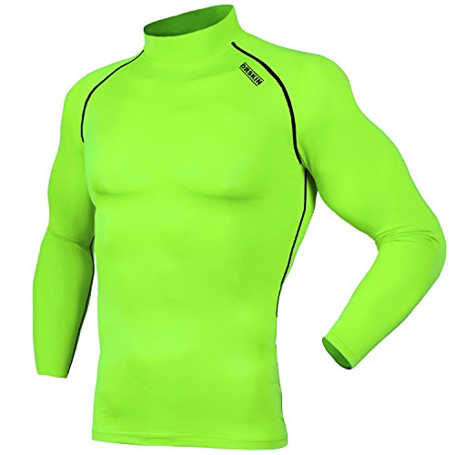 DRSKIN UV Sun Protection Long Sleeve Top Shirts Skins Tee Rash Guard Compression Base Layer UPF 50+ (SLG081, - Sh Sun