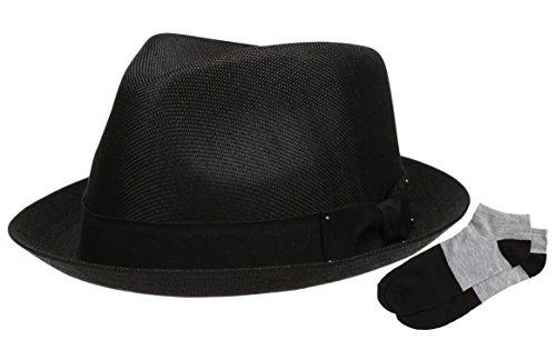 272c0baa05f Jual Epoch Men s Summer Lightweight Linen Fedora Hat With Casual Low ...