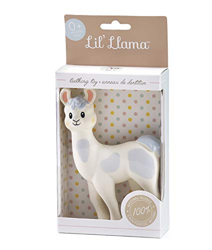 Lil' Llama Natural Rubber Teething Toy (Sophie The Giraffe Best Price)