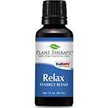 Plant Therapy Relax Synergy Essential Oil 30 mL (1 oz) 100% Pure, Undiluted, Therapeutic Grade