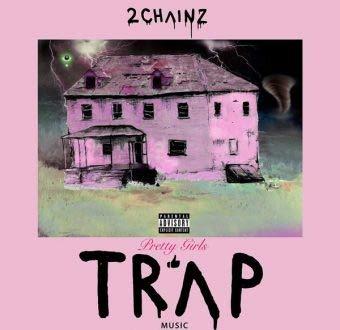 At Ur Service 2 Chainz 'Pretty Girls Like Trap Music' Rare Album Cover 12 x 18 Inch ()