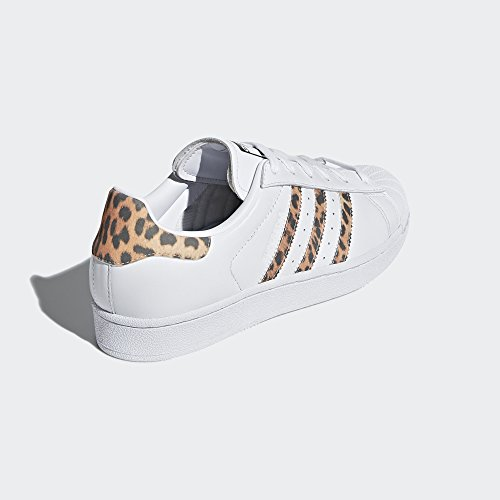 adidas Originals Women's Superstar W Sneaker, FTWR White, Supplier Colour, Core Black, 9 M US by adidas Originals (Image #3)