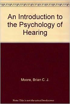 Descargar Gratis Libros An Introduction To The Psychology Of Hearing: Third Edition PDF Mega