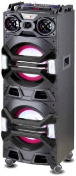 Altavoz Bluetooth Belson TBSL-150 Torre de Sonido de Gran Potencia, 150W RMS,mandos Control, Luces Disco, micrófono, Puerto USB y Lector de Tarjeta SD.: Amazon.es: Electrónica