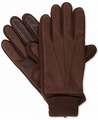 - Isotoner Signature Men's Knit-Cuff Gloves L