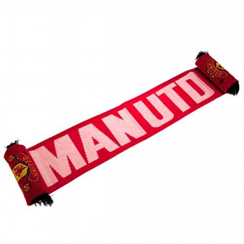 Manchester United FC Authentic EPL ''Glory Glory'' Scarf by Manchester United