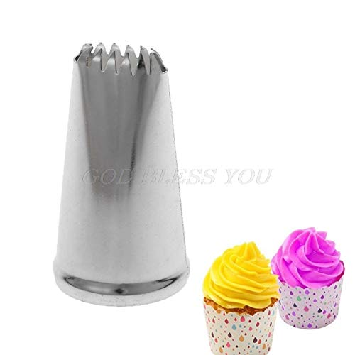 Decorating Tip Sets - Icing Cream Cookie Piping Nozzle Diy Baking Pastry Decoration Stainless Steel - Decorating Sets Decorating Sets Face Cream Cookie Nozzle Bracelet Stainless Steel Pipe Cak