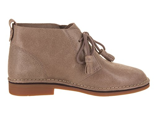 Cyra Catelyn Suede Puppies Taupe Boot Hush Shimmer Women's qtUWE