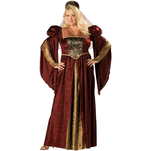 Renaissance Maiden Costume - Plus Size 2X - Dress Size 20-22]()