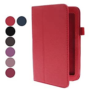 Purchase PU Leather Case with Stand for Samsung Galaxy Tab3 P3200 (Assorted Colors) , Rose