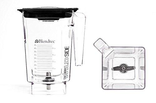 Blendtec 40-630-60 - WildSide 96oz Blending Jar with 4'' Blade (for SpaceSaver and EZ blenders - Includes Vented Gripper Lid) by Blendtec