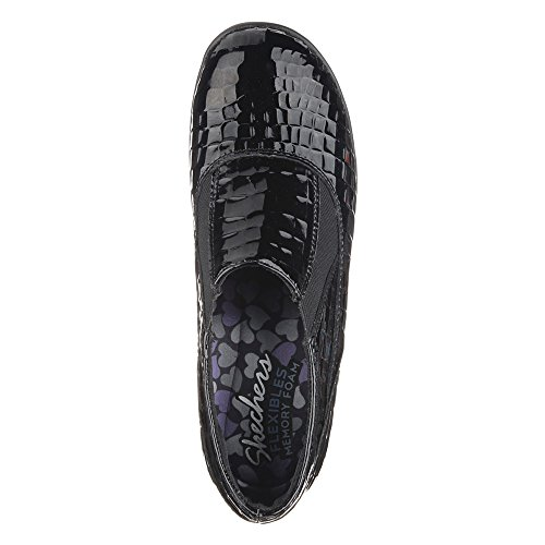 Skechers Flexibles Divisor Resbalón Black Croco
