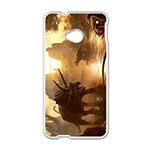 Sunset Creative Creative Dinosaurs Hot Seller High Quality Case Cove For HTC M7