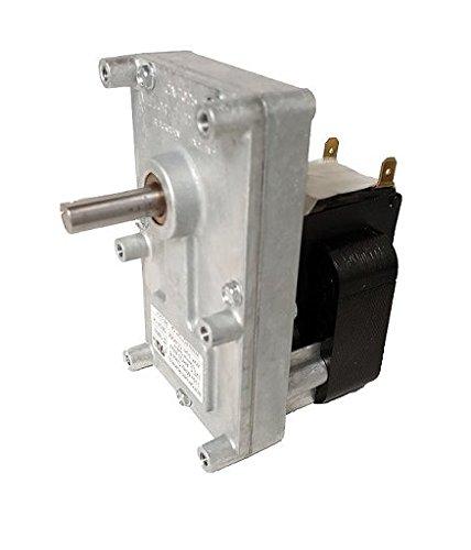 Pellet Stove Auger Gear Motor 1 Rpm 120 Volts Amps