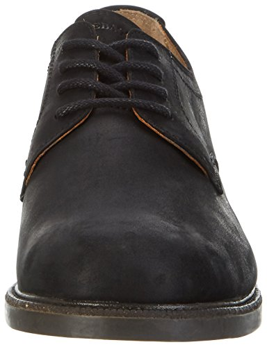 Leather Wp Sebago Black WP up Derbys Lace Herren Turner Schwarz n1wxrzq81A