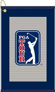 Devant Sport Towels PGA Tour Grey Pinstripe Golf Towel