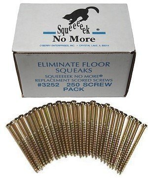 O'Berry 3252 Squeeeeek No More Floor Screws 250 per Package (Original Version)