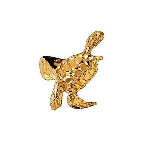 14kt Gold Vermeil Right Only Sea Turtle Ear Cuff (Vermeil Turtles)