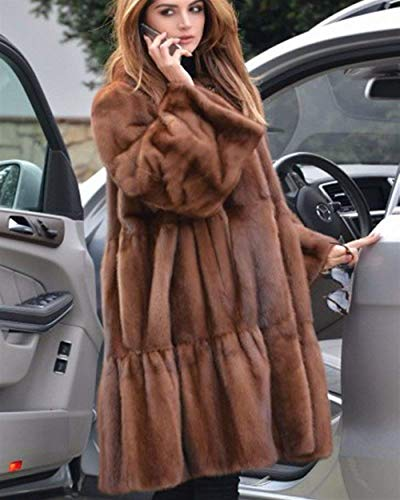 BIRAN El Cardigan Fourrure Automne Blouson Oversize Hiver Longues Femme Casual UqCaUTp