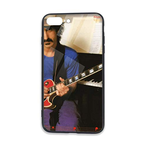 JamesMSmit Frank Zappa Shut Up 'n Play Yer Guitar iPhone 7/8 Plus TPU Glass Phone Case,Scratch-Resistant and Shockproof,for 5.5 Inches