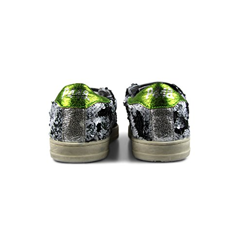 cheap official P448 Women's John Italian Leather Paillettes Sneaker Paillettes with paypal cheap online e7IlFeIQ