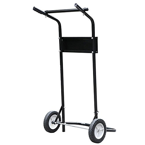 Gotobuy 85 Lb Outboard Boat Motor Stand Carrier Cart Dolly